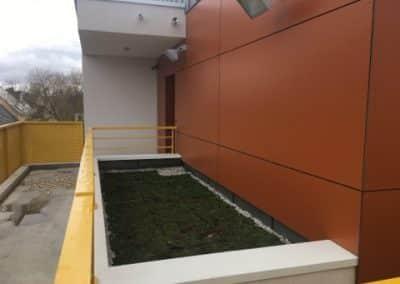 Toit-terrasse bâtiment professionnel