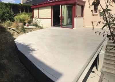 Toiture-terrasse sur garage